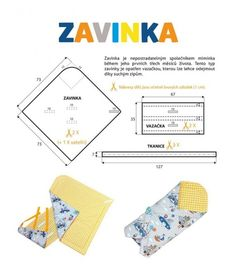 Návod na zavinovačku (střih zdarma), SHAPE-patterns.cz Quilt Baby, Baby Sewing Projects, Sewing For Kids, Baby Kind, Baby Love, Baby Nest Pattern, Baby Sheets, Baby Boy Knitting, Baby Furniture