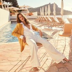 REIKO l Spring Summer 2019 Campaign Under the sun of the French Riviera Model @rachaellange  Photographed by @andoniarantxa Make Up and hair by @cyril.lanoir #reikojeans #thisismyreikojeans
