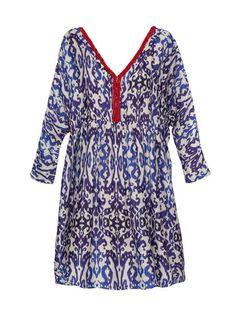 Tara Dress- Ikat   Modern, Bohemian, Gypset, Glam, Resortwear, Luxurious, Travel   rhoderesort.com