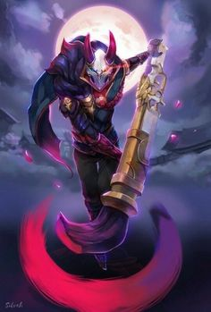 League of legends: blood moon jhin - inven global Lol League Of Legends, Champions League Of Legends, League Of Legends Characters, Overwatch, League Of Legends Personajes, Splash Art, Character Art, Character Design, Game Costumes