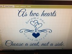 Done on my said your way tool on my #Simply #said  #designs website!  Perfect for #weddings.  # personalize and customize.  Http://www.mysimplysaiddesigns.com/571