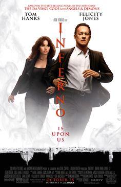 INFERNO starring Tom Hanks & Felicity Jones   In theaters October 28, 2016