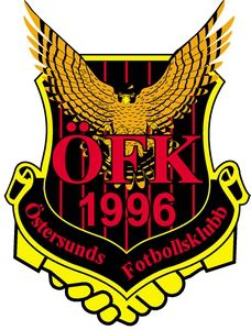 1996, Östersunds FK (Östersund, Sweden) #ÖstersundsFK #Östersund #Sweden (L6865)