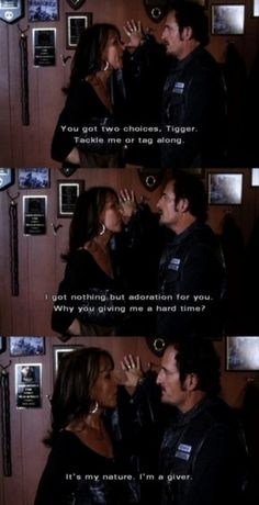 "Tig : ""This is why I beat hookers..."" LoL"