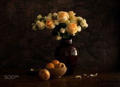 Roses and Peaches - null