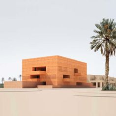 Marrakech Museum for Photography and Visual Art by David Chipperfield Architects - beautifully integrated into the surroundings
