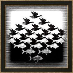 Sky and Water Prints by M. C. Escher at AllPosters.com
