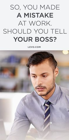 Know when you should and when you shouldn't. @levoleague www.levo.com