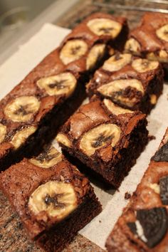 Check out my BANANA FUDGE BROWNIE recipe on my website!!!