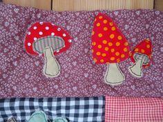 forest animals quilt