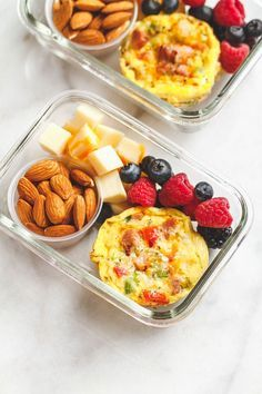 Easy Keto Meal Prep Breakfast - Packed with protein and so convenient for busy m. - Easy Keto Meal Prep Breakfast – Packed with protein and so convenient for busy mornings, this is - Lunch Meal Prep, Healthy Meal Prep, Healthy Breakfast Recipes, Healthy Drinks, Healthy Snacks, Eat Healthy, Breakfast Ideas, Healthy Breakfast On The Go, Healthy Breakfast Meal Prep