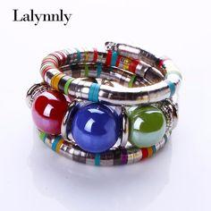 2.51$  Buy here - http://ai3bj.worlditems.win/redirect/32302428269 - Fashion Bracelets Bangles For Women 2016 Resin Alloy Tibetan Bracelets & Bangles Adjust Bangles Accessories Gifts B02351   #aliexpresschina