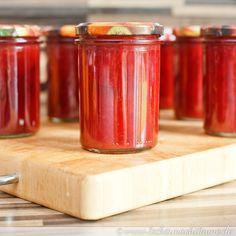 Apfelmarmelade mit roter Bete - eine interessante Kombination, das muss ich ausprobieren!