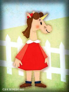 """A Unicorn a Day """"Little Unicorn"""""""