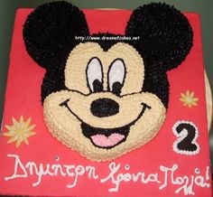 Mickey Mouse Cakes for Boys | Dream of Cakes: Mickey Mouse Birthday Cake