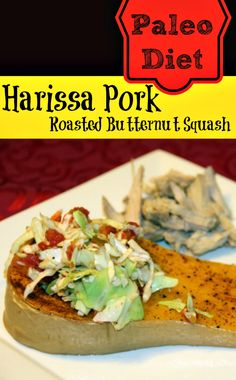 Paleo Diet: Roasted Butternut Squash And Harissa Pork Shoulder | Makobi Scribe