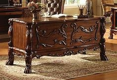 """ACME 12169 Dresden Office Desk, Cherry Oak Finish by ACME. $721.05. Traditional Design. Ball and claw feet. Decorative Carving and Hardware. Perfect for Any Room in Your Home. Quality Construction for Years of Enjoyment. Old World Classic Traditional Design. Upscale Look. Dimensions 64"""" x 28"""" x 31""""H.. Save 29% Off!"""