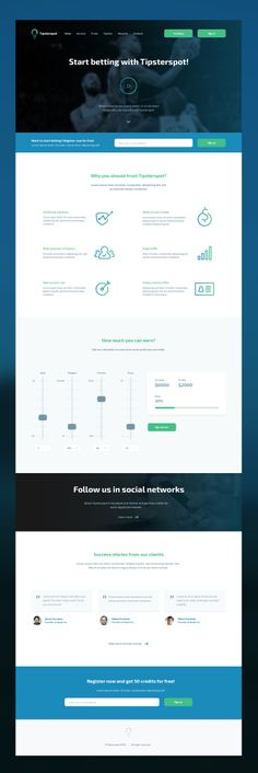 Tipsterspot-landing-page-full