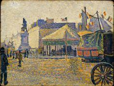 Place de Clichy, Paul Signac, 1888. Metropolitan Museum of Art, New York.