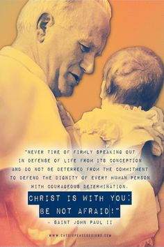 JPII Pro-Life Mobile Wallpaper