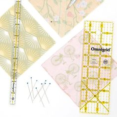 Sewing Seam Measuring Gauge Patchwork Quilting Tailor Black Ruler Accessories LH