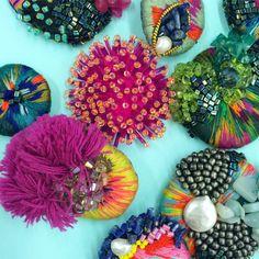 Trinkets and Colour - Embellishments by Harriet Frances Stiles Embellished Talk