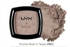 NYX Powder Blush Taupe  for contouring