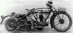 OEC 3-wheeled Cross-Country Motorcycle