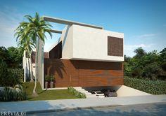 Casa Esmeralda - Alphaville, São Paulo. Front elevation view. Completion date: July 2014. Designed by architect Rodrigo Latorre. Incorporation: Yellowbrick Houses.