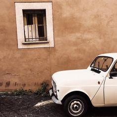 Bella Roma. #italy #italia #rome #roma #happiness #happy #love #lovely #vintage #retro #car #photography #photooftheday #photographer…