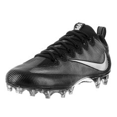 timeless design eb779 dd6e8 Nike Men s Vapor Untouchable Pro Black Mtllc Slvr Mtlc Drk Gry Football  Cleat 9 Men US, Size  9 Medium
