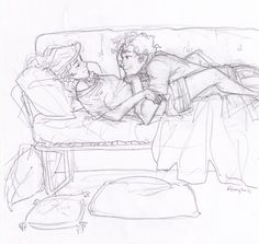 [the mortal instruments] Art by Burdge bug. ~ Wish I knew who they are...