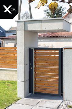 House Front Gate, Front Gates, Entry Gates, Entrance Doors, Living Room Partition Design, Room Partition Designs, Gate Designs Modern, Modern Design, Front Gate Design