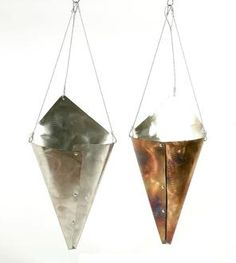 Stainless Steel Hanging Vase