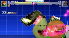 Zeus The God Of Thunder And Batman VS Green Lantern Guy Gardner & Annoying Orange In A MUGEN Match This video showcases Gameplay of The Annoying Orange And Green Lantern Guy Gardner VS Zeus The God Of Thunder From Hercules The Animated Series And Batman The Superhero In A MUGEN Match / Battle / Fight
