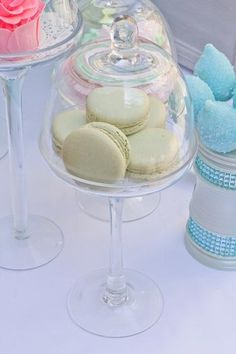 simple French macarons are beautiful on any table