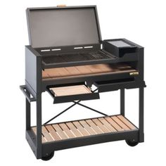 Visit the post for more. Bbq Grill, Barbecue, Grilling, Pipe Furniture, Industrial Furniture, Outdoor Kitchen Grill, Charcoal Bbq, Ideas Hogar, Wood And Metal