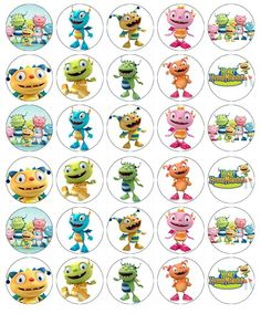 Henry Hugglemonster Cupcake Toppers Edible Wafer Paper BUY 2 GET 3RD FREE! in Crafts, Cake Decorating | eBay
