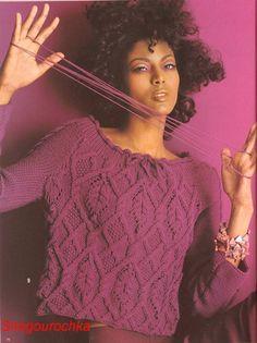 Vogue knitting fall----棒针编织(1) - 紫苏 - 紫苏的博客