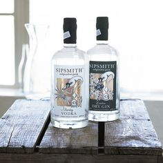 Sipsmith gin and vodka by Sipsmith