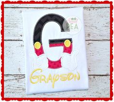 Personalized Mr. Mouse Shirt  Boys Birthday by SweetPeaStitches84