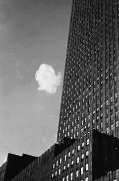 Lost Cloud, 1937 by Andre Kertesz