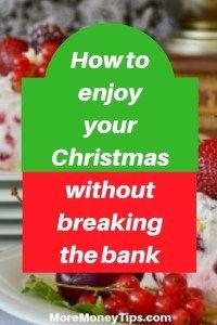 Smart Christmas Money Saving Tips (Part 1) - More Money Tips