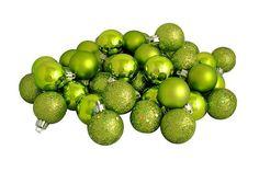 "32ct Green Kiwi Shatterproof 4-Finish Christmas Ball Ornaments 3.25"" (80mm) Vickerman,http://www.amazon.com/dp/B003XO2HM4/ref=cm_sw_r_pi_dp_Ylkdtb1191JHJGD7"