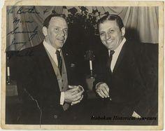 Frank Sinatra and Jimmy Roselli. Hoboken Historical Society
