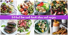 Low-carb lunch meals that will tantalize your taste buds and provide you with the energy you need to make it through to dinner.