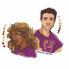 brunagonda:  Someone talked about the other PJO-HOO couplesSo… Well, I liked the idea, so follow to see the next ones :v