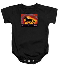 Baby Onesies - If mind is a horse you need your heart and soul to control it for the right pace and direction  Succ Onesie by Navin Joshi