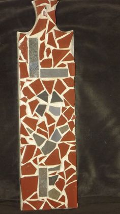 Mosaic Love sign Free Shipping by PiecesofhomeMosaics on Etsy, $32.00