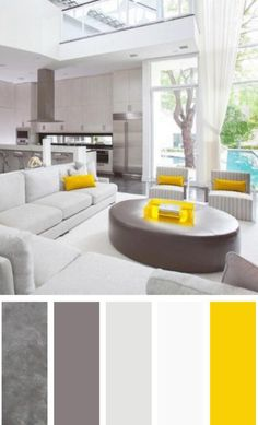 81 Popular Living Room Colors to Inspire Your Apartment Decoration 21 Living Room Color Schemes that Express Yourself Modern Living Room Colors, Living Room Color Schemes, Paint Colors For Living Room, Beautiful Living Rooms, Living Room Designs, Modern Color Schemes, Room Color Design, Muebles Living, Design Apartment